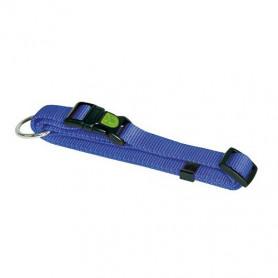 collier pour chien solide bleu
