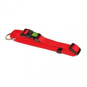 collier pour chien solide rouge