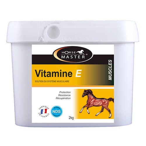 Vitamine E cheval - Récupération musculaire
