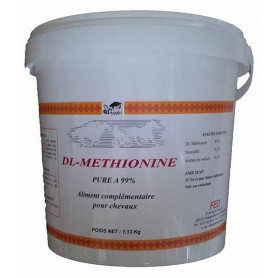 DL METHIONINE PURE - Acides Aminés Cheval