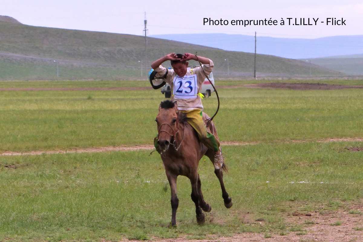 course traditionnelle mongole